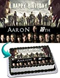 The Walking Dead Edible Image Cake Topper Party Personalized 1/4 Sheet