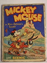 Mickey Mouse in King Arthur's Court With Pop-Up Illustrations