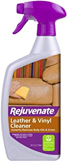 Rejuvenate Leather & Vinyl Cleaner – Rehydrate, Restore Luster and Protect All Leather & Vinyl Surfaces with No Greasy Residue