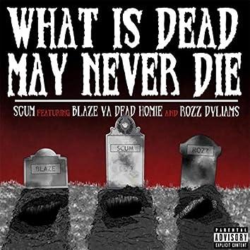 What Is Dead May Never Die (feat. Blaze Ya Dead Homie & Rozz Dyliams)