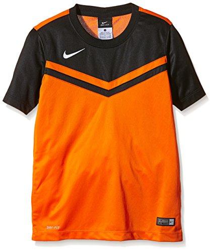 Nike Kinder Jersey Victory II Kurzarm Trikot, Safety Orange/Black/White, XL