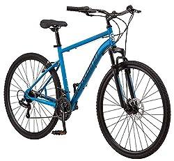 top 10 hybrid bikes Schwinn 700c Copeland Men's Hybrid Bike, Blue