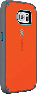 Speck Products MightyShell and Faceplate Case for Samsung Galaxy S6 - Retail Packaging - Carrot Orange/Speck Blue/Slate Grey