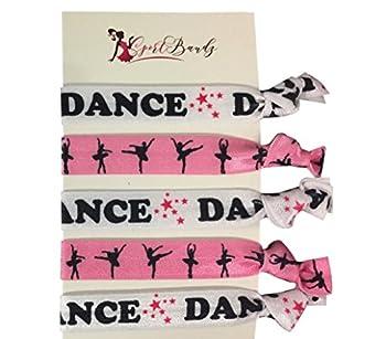 Infinity Collection Dance Hair Ties- Girls Dance Hair Accessories- Dance Elastics for Dance Recitals
