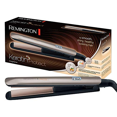 REMINGTON S8540 Hair Straightener Keratin Protect(Rose Gold)-S8540 (Rose Gold)