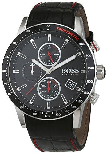 Hugo BOSS herenhorloge 1513390, zwart/zilver