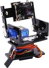 HQTECHFLY Pan/Tilt Camera Platform for Raspberry Pi PTZ 480P Smart Robot Car WiFi Pantilt 2 DOF Servo USB 2.0 Openwrt Raspberry
