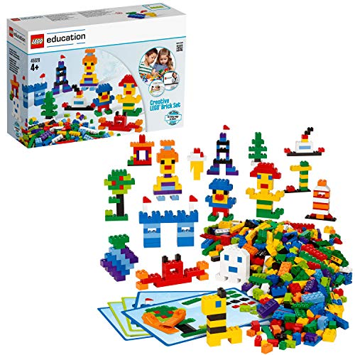 Legos are a fun STEM birthday gift ideas for a 4 year old girl.
