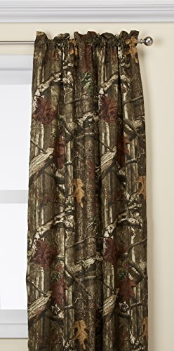 """Mossy Oak Camouflage Curtain Panel, 80"""" Wx84 L"""