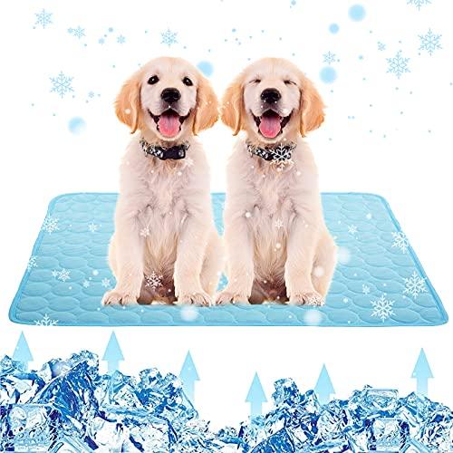 Cooling Mat for Dogs Cats,Dog Cooling Mat Pet Self Cooling, Dog Cooling Pad Dog Cooling Supplies Cooling Mat, Pet Indoor/Outdoor Summer Pet Cooling Mat Dog Cat Bed Mats Extra Large