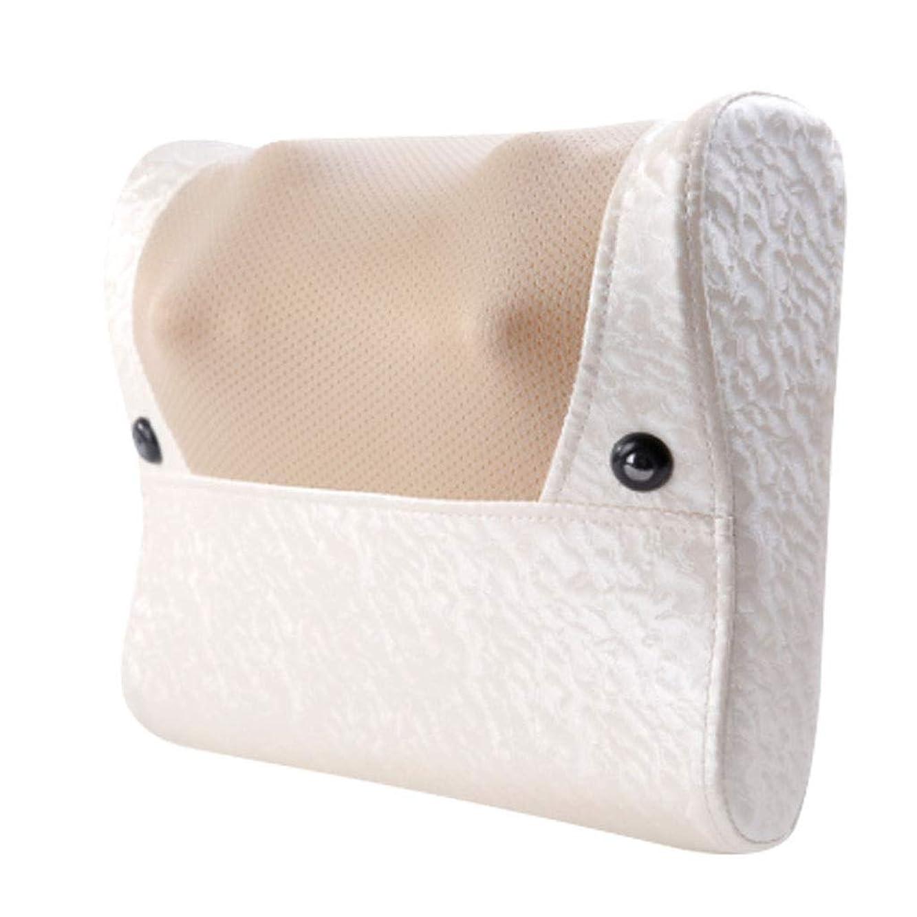 ウサギ粗いマウンド8Dネックマッサージャー - 家庭用電動多機能ボディマッサージ、カーパッド、首、肩、腰、脚マッサージ。