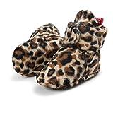 Botas de Niño Calcetín Invierno Soft Sole Crib Raya de Caliente Boots de Algodón para Bebés (6-12 Meses, Leopardo)