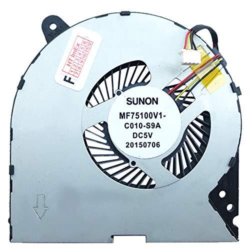Cooling Fan for Lenovo IdeaPad Y700-15ISK (80NV007RGE), Y700-15ISK (80NV009XGE), Y700-15ISK (80NV007SGE), Y700-15ISK (80NV00GPGE), Y700-15ISK (80NV007TGE), Y700-15ISK (80NV00GVGE)