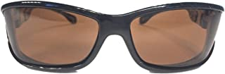 SolarShield Fits Over Black Gloss Panoramic with Amber Lens size Medium