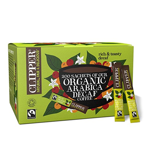 Clipper Bio Fairtrade-Arabica Decaf Kaffee X 200 Sticks
