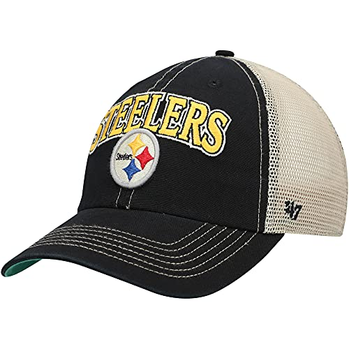 '47 NFL Pittsburgh Steelers Tuscaloosa 47 Clean Up Vintage Black One Size