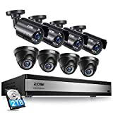 Best Revo 16 Channel Dvrs - ZOSI H.265+ 16CH Security Camera System with 2TB Review