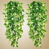 Artificial Hanging Plants - 2pcs...