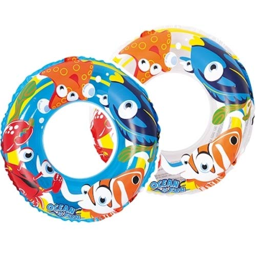 Palgrave Children's Sea Life Design Inflatable 20' Swim Float Ring 3-6 years