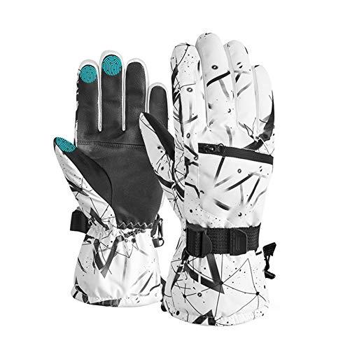 Ski Gloves,-30℉ Touchscreen Snow Gloves Men Women Waterproof Motorcycle Gloves