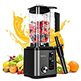 Professional Countertop Blender,1800W Smoothie Maker Blender With 74Oz BPA-Free Tritan Pitcher , High Speed Blender 10-Speed Control for Crushing Ice ,Frozen Drinks , Shakes and Smoothies