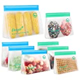Reusable Storage Bags: Upgrade Stand Up Food Storage...
