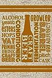 Alcohol Growler Yeast Esters Hops Conditioning Craft Beer Fermentation: Beer Tasting Journal, Craft Beer Tasting Logbook, Beer Review Scorecards and ... Space for Ratings, Favorites, Food Pairings