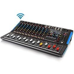 Pyle PMXU128BT Home Studio Audio Mixer Review