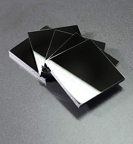 MyMaxxi | Acrylglas Acrylic Zuschnitt Glasersatz 100x60cm 5mm schwarz | Platte Scheibe klar transparent Platten | Materialstärke und Größe wählbar | mit Schutzfolie glasklar