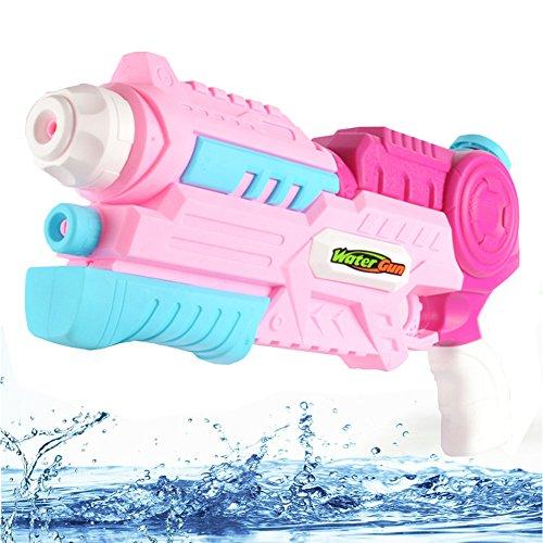 Super Wasserpistole Soaker Squirt Wasser Blaster Outdoor Beach Garden Wasserspaß Aktivität & Erwachsene Blaster (Rosa)