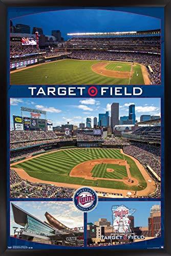 Trends International MLB Minnesota Twins - Target Field 16 Wall Poster, 22.375