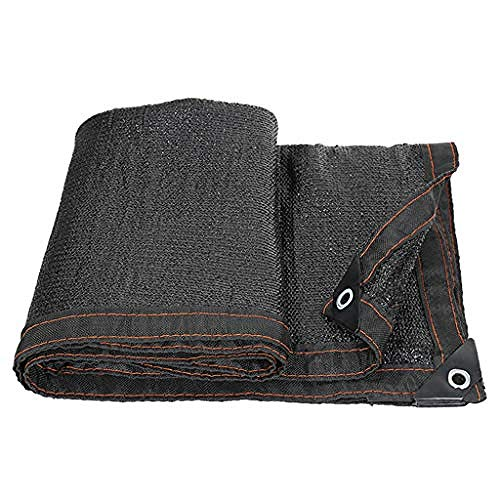 H.ZHOU Shade Reflective Shade Cloth 95% Shade Cloth UV-resistant Shade fabric taped edge with eyelets Shade Tarp -9x12ft/3x4m 908