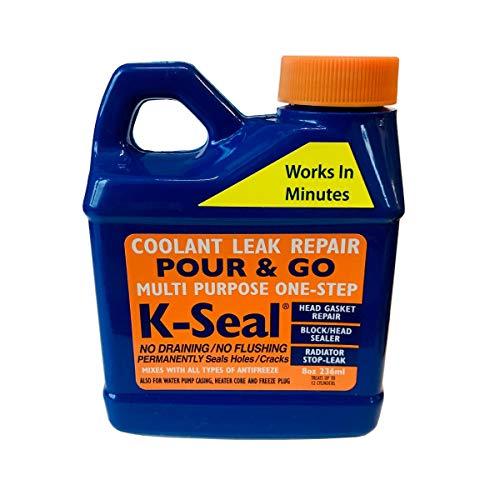 KSeal Reparador de refrigerante para radiador Permanente, Fija Las Juntas de la Cabeza, Sistemas de refrigeración, sellador de radiador