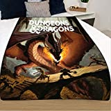 Dungeons and Dragons, Dragon Blanket [45 x 60 inches], 14+, by Just Funky