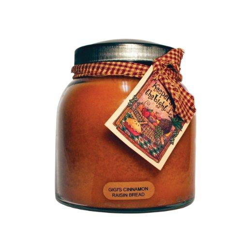 Keepers of The Light Candles Gigi's Cinnamon Raisin Bread Papa Jar