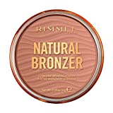 Rimmel London Natural Bronzer Terra Abbronzante Waterproof a Lunga Durata SPF 15, 021 Sun Light, 14...