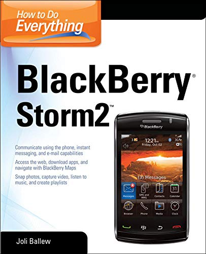How to Do Everything: BlackBerry Storm2