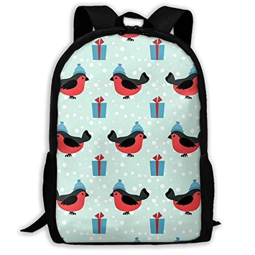Hangdachang - Modelo de vacaciones de invierno, mochila escolar con bolsa de viaje informal para niños y adolescentes