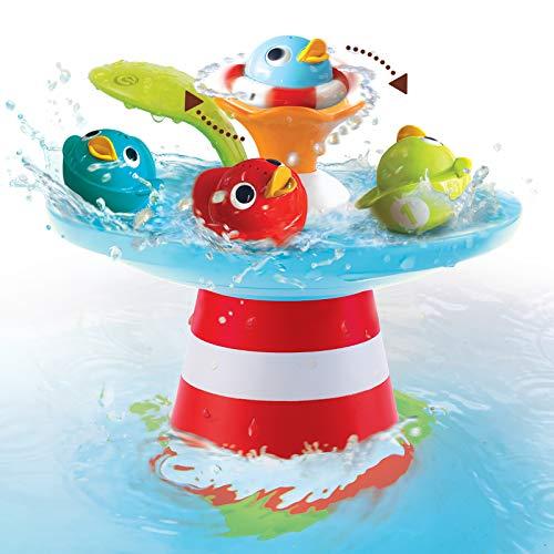 YOOKIDOO - Course aux Canards - Jeu de Bain Multi Activités - Eveil des sens - Jouet bébé Éducatif - Cadeau bébé de 6 mois à 3 ans