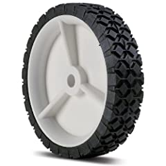 "7 x 1.50"" ID 1/2-Inch Hub Is Offset Plastic Hub Length Is 1 3/8-Inch Tread Design: Diamond"
