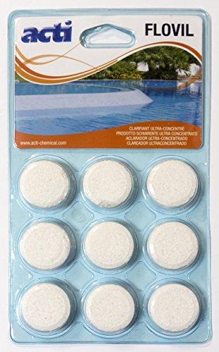 Flovil Clarificante ultraconcentrado blister de 9 pastillas