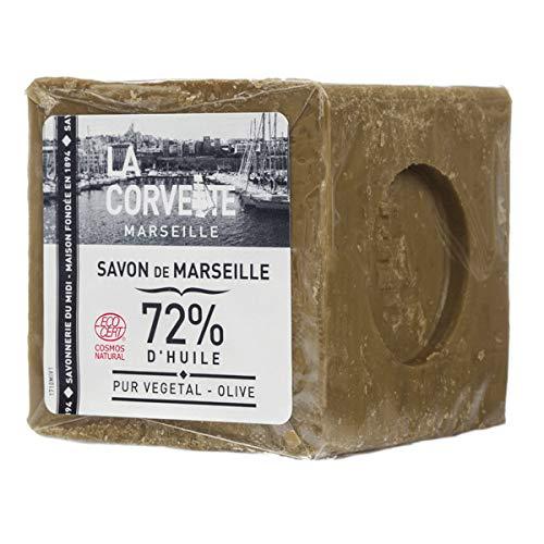 La Corvette Savon de Marseille Olive Ecocert in folie 300 g - 300 g