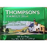 Thompson's Punjana Irish Breakfast 80 Teabags (8.82 Oz) (Pack of 2)