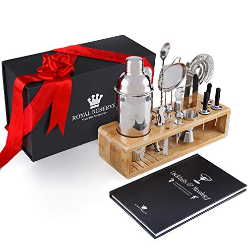 Cocktail Mixology Shaker Set by Royal Reserve
