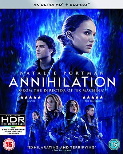 Annihilation (4K Uhd) [Edizione: Regno Unito] [Blu-ray]