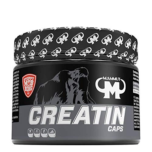 Mammut Creatin Trainingsbooster Kapseln, 241,92 g