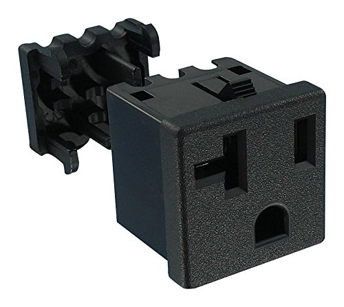 739W-X2/20 - Power Entry Connector, 739W Series, Receptacle, 125 V, 20 A, Panel Mount, IDC/IDT, (Pack of 20)