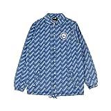 New Era NBA Denim Coaches Jacket Phi76e Idg Chaqueta, Hombre, dk Blue, L