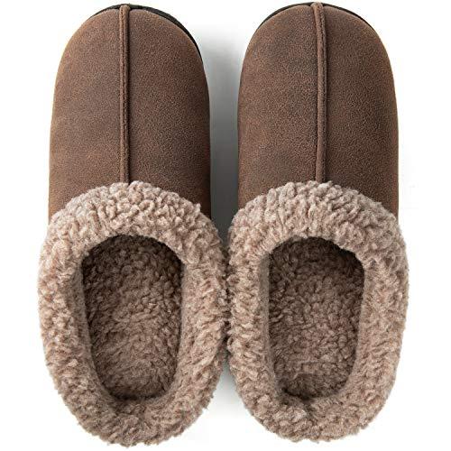 ZIZOR Men's Memory Foam Wool-Like Lining Slipper (49% Off)