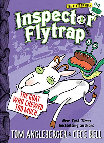 Image of Inspector Flytrap in The Goat Who Chewed Too Much (Inspector Flytrap #3) (The Flytrap Files)